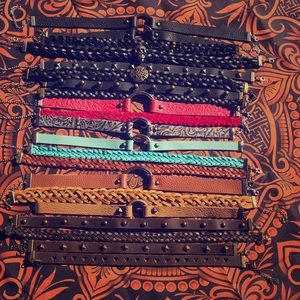 Handmade Leather Chokers